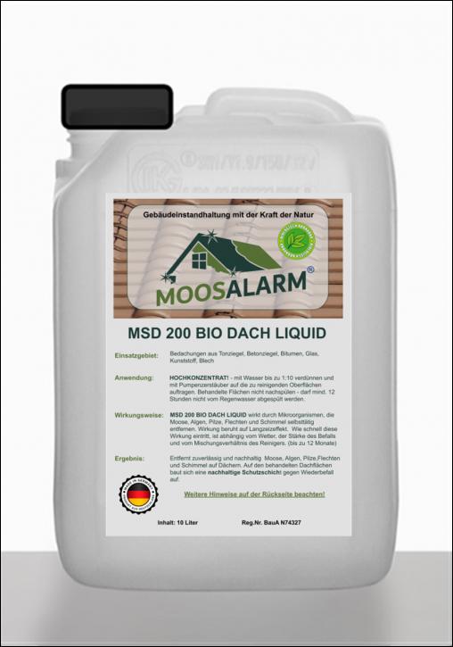 MSD 200 BIO DACH LIQUID HOCHKONZENTRAT- 10 Liter